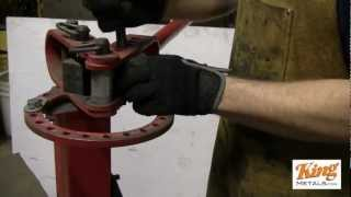 Forming Cap Rail with a Metal Bender