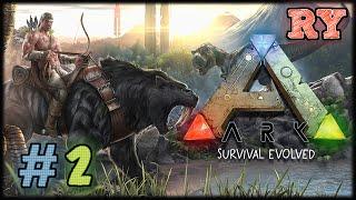 Ark Survival Evolved #2 - Tigre!!!