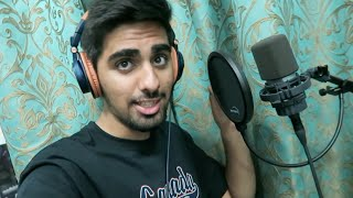 Recording My First Song !!!