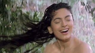 Juhi Chawla & Sanjay Dutt in Forest - Bollywood Movie Scene   Safari