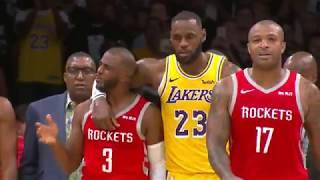 Houston Rockets vs Los Angeles Lakers   October 20, 2018
