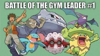 Battle of the Gym Leader #1 (Brock) - Pokemon Battle Revolution (1080p 60fps)
