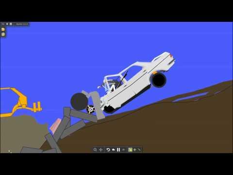 Algodoo Car Destruction Game