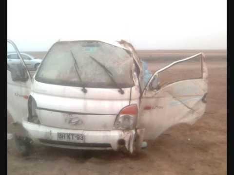 Accidente Hyundai Porter