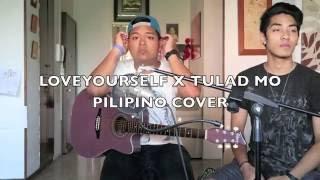 LOVE YOURSELF X TULAD MO (FILIPINO VERSION COVER) - Jessica Marquez Feat. Danilo Borlado & Ping