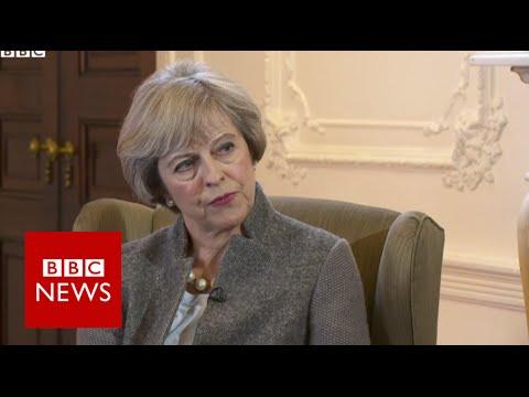 Brexit may bring difficult times says Theresa May BBC News