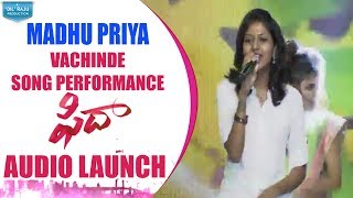 Singer Madhu Priya Song Performance @ Fidaa Audio Launch   Varun Tej, Sai Pallavi   Sekhar Kammula