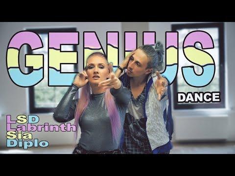LSD - Genius ft. Sia, Diplo, Labrinth - dance | Patman Crew choreography