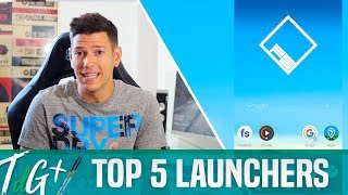 TOP 5 mejores LAUNCHERS para Android
