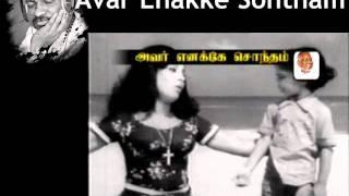 Illayaraja Hits-Avar Enakke Sondam-Song 6.flv