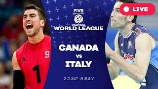 Canada v Italy - Group 1: 2017 FIVB Volleyball World League