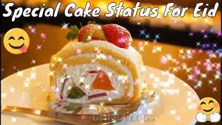 Latest Eid Celebration Status 2018 With Cake - Latest Cake Design For Eid Status 2018 - Latest 2018
