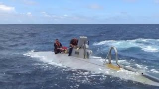 US Coast Guard seizes a narco sub laden with $73 million worth of cocaine