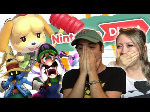 LITERALLY CRYING ABOUT ANIMAL CROSSING Nintendo Direct 9 13 Reaction