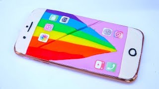 DIY How To Make play Doh Iphone 7 Plus Rainbow Modelling Clay Mighty Toys