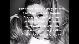 i have nothing cover by ariana grande (lyrics)