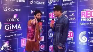 GIMA AWARDS 2016 RED CARPET - Divine with KaanPhaad ABHILASH