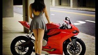 Ducati Girl Helmet Shopping