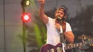 Thomas Rhett All American Middle Class White Boy Live 2014 Wi
