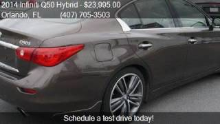 2014 Infiniti Q50 Hybrid 4dr Sedan RWD Hybrid Sport for sale