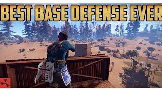 Rust   LITERALLY the BEST base defense of my LIFE (not clickbait)
