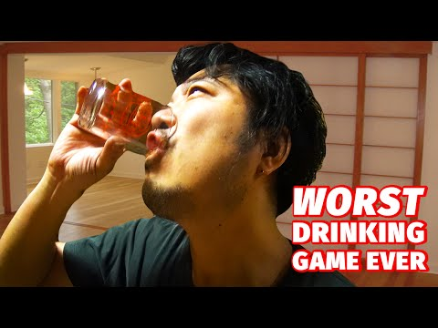 WORST DRINKING GAME EVER