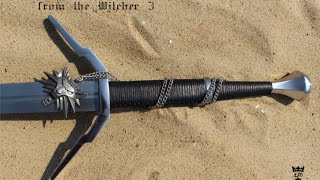 Witcher 3 Sword - forged. The complete movie