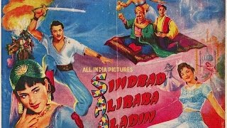 sinbad , ali baba / alibaba aur / or / and / & aladin 1965  part 1 / 4  pradeep kumar , agha