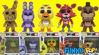 Five Nights at Freddy's FNAF Game Funko Pop Full Set