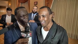 Boxing legends recall the beatings they received as children