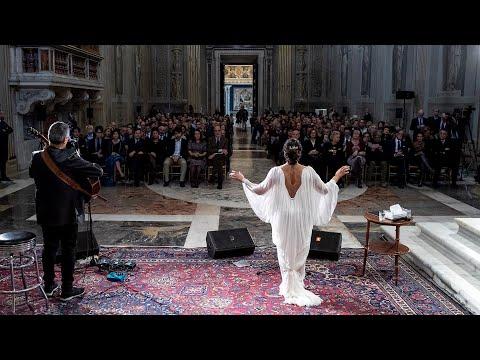 Xxx Mp4 Concerto Di Natale Noa E Gil Dor Alla Cappella Paolina Del Quirinale 3gp Sex