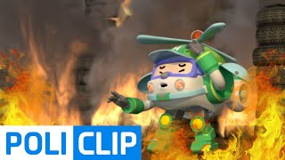 Helly! You are in danger! | Robocar Poli Clips