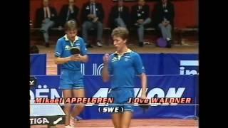 1988 European Championships MD-F: J.O.Waldner/M.Appelgren - I.Lupulesku/Z. Primorac [High Qual/720p]
