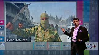 بي_بي_سي_ترندينغ: انتشار صور أعمال النهب في #عفرين..وصورة لـ #الأسد في #الغوطة_الشرقية #سوريا