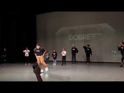 Dobre Tour PJ dancing on stage Dobre Army