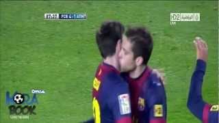 احلي أهداف برشلونة  4-1  في أتلتيكو مدريد