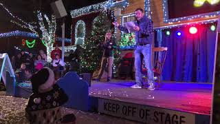Pittsburgh Dad - The Night Before Christmas - Pittsburgh Style at Kennywood Holiday Lights 2017