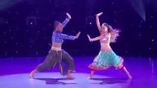Fik-Shun  | dance on indian style| radha song |  in so you think you can dance