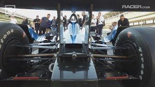 IndyCar: 2018 Speedway Bodywork Tech Tour