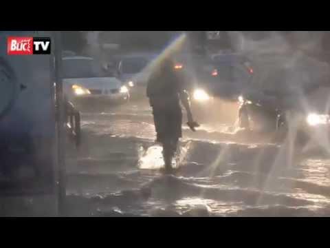 Veliko nevreme sinoć potopilo Budvu