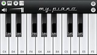 o amar bondu go bangla song piano