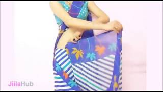 How To Drape Perfect Bollywood Saree-Wear Sari In A Simple Step:Modern Indian Saari