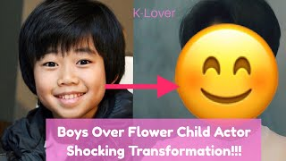 The Little Brother On Boys Over Flowers Shocking Transformation!!!