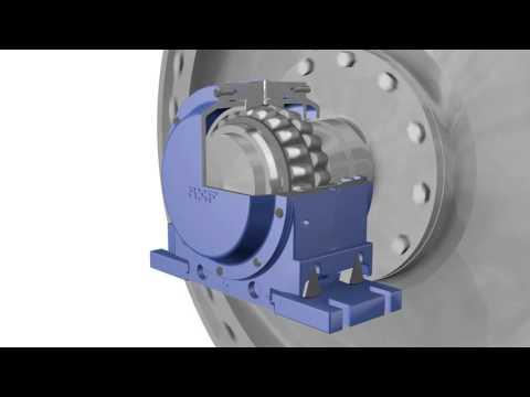 Drying cylinder bearing arrangements