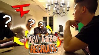 THE NEWEST FAZE HOUSE MEMBERS...