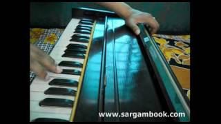 Sanam Re Harmonium Tutorial ~ Sargam Book
