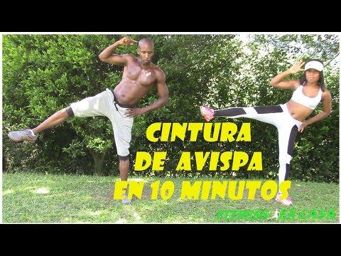 ¿Cómo Reducir Cintura y Abdomen Hazlo en 10 Minutos