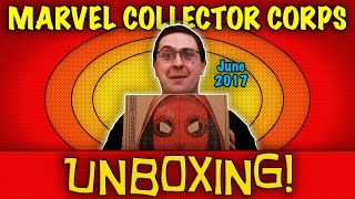 UNBOXING! Marvel Collector Corps June 2017 - Spider-Man: Homecoming #Funko