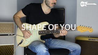 Ed Sheeran - Shape Of You - Electric Guitar Cover by Kfir Ochaion