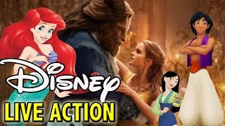 All Upcoming Disney Live Action Movies | Little Mermaid, Aladdin, Lion King & More!
